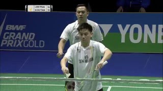 Swiss Open 2016 | Badminton SF M4-MD | Lee/Tsai vs Koo/Tan thumbnail