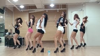 SISTAR(씨스타) - Give It To Me 안무영상 (Choreography Ver.)