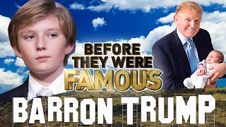 BARRON TRUMP - Before They Were Famous - Autism Rumors