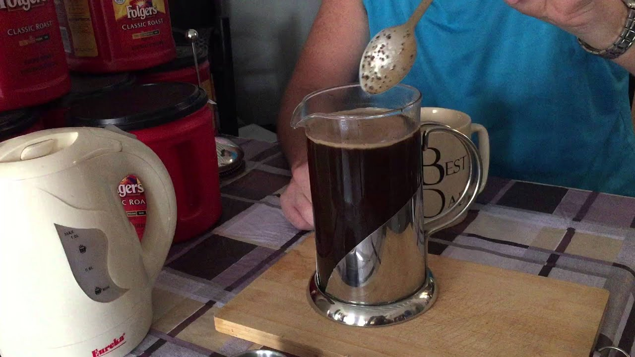 The Basics How To Use A French Press Coffee Maker