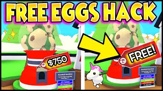 Hack to get FREE EGGS in Adopt Me! Can We Get These TIKTOK Hacks To Work?! Prezley Adopt Me