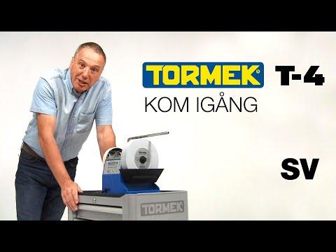 Tormek T-4 slipmaskin - Kom igång med Alan Holtham