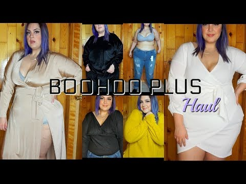 Boohoo Plus Size Haul- Sizings | Try On