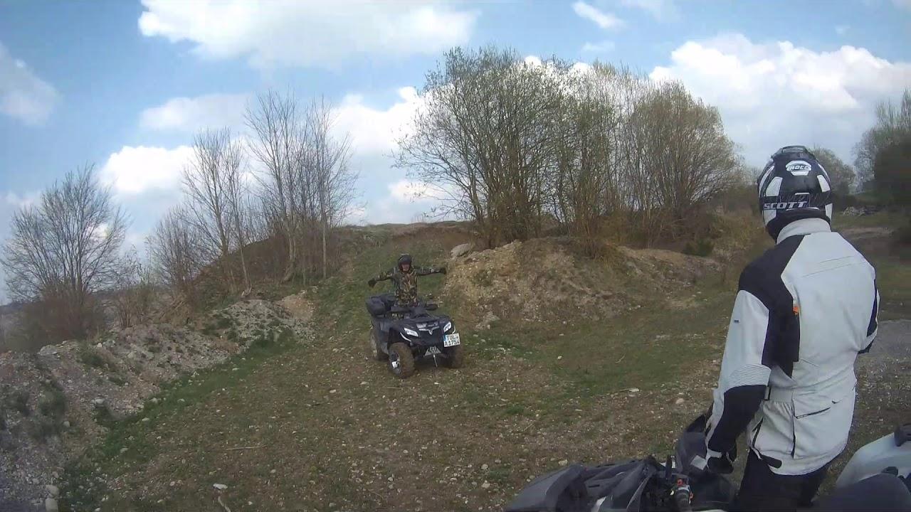 9a508ab970 ATV Freunde Oberbayern in der Kiesgrube. Quad Trooper
