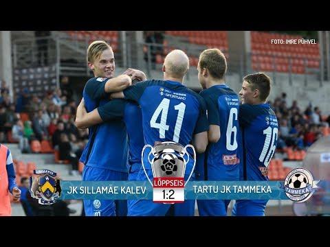 33. voor 2017: JK Sillamäe Kalev - Tartu JK Tammeka  1:2 (1:1)