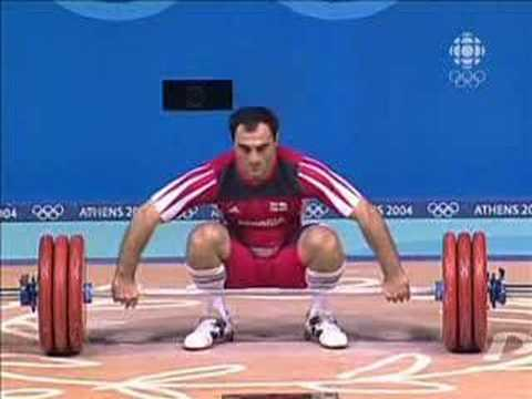 Athens 2004 Under 85 kg Men Weightlifting