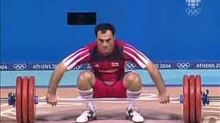 Athens 2004 Under 85 kg Men Weightlifting