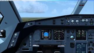 blackbox simulation a330 takeoff climb pfd nd and other displays indication