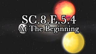 SC.8.E.5.4 At The Beginning