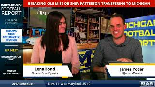 Breaking News: Former Ole Miss QB Shea Patterson Announces Transfer to Michigan