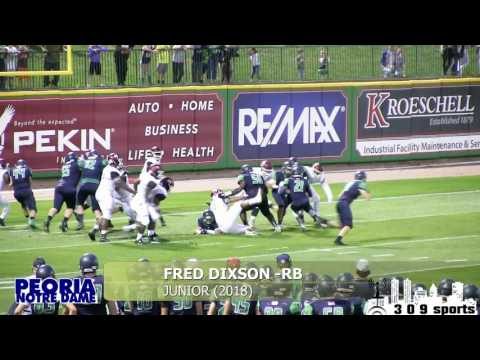 [ 309sports ] Peoria Notre Dame Football 2016-2017