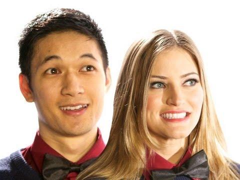 HOLIDAY DANCE PARTY!!! iJustine & Harry Shum, Jr behind the scenes dance! | iJustine