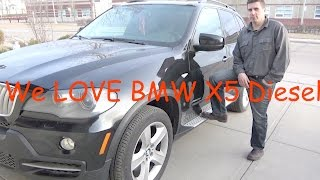 WHAT I LOVE ABOUT THE BMW X5 DIESEL