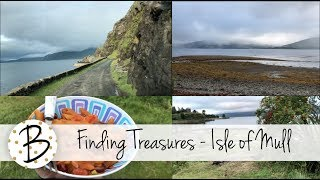 Looking for Treasures #vanlife Adventures in Scotland 2018