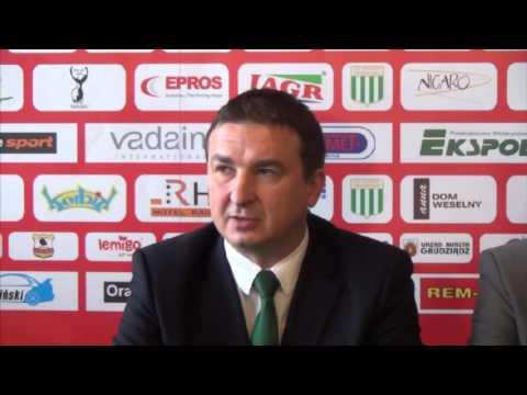 Konferencja prasowa - Dariusz Kubicki trenerem [2014.01.07]