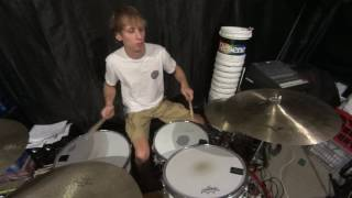 Doubles and Singles on the Drums