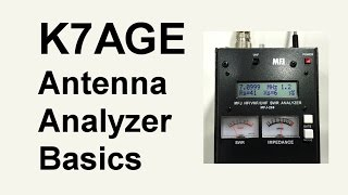 How To Use An Antenna Analyzer - Basics