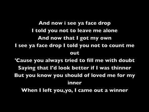 Sean Kingston- Face Drop- Lyrics