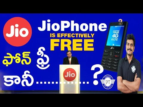 Jio Phone Launched For Free How to Buy & Plans Detailsll in