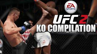 KO Compilation! (UFC 2 on Xbox One)