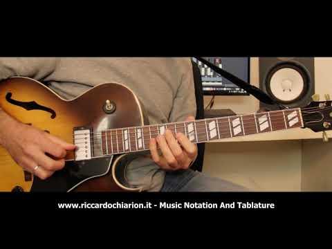 Jazz Guitar Etude #11 - Wave