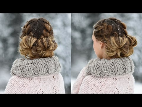 double-french-buns-|-cute-girls-hairstyles