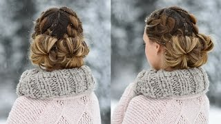 Double French Buns | Cute Girls Hairstyles