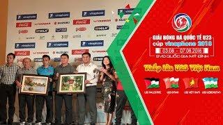 Gala dinner giải bóng đá Quốc tế - Cup Vinaphone 2018 | VFF Channel
