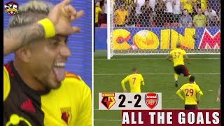 Arsenal Bottle It! Watford 2-2 Arsenal All The Goals Live