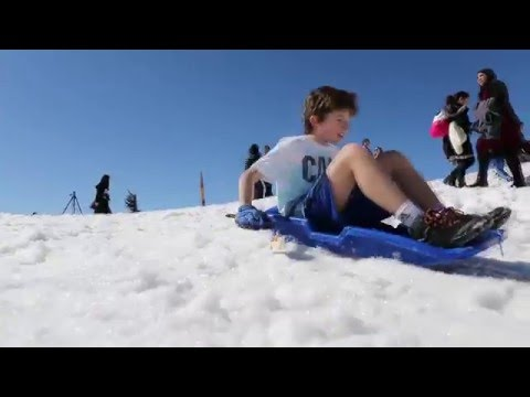 Israel's Mt. Hermon Ski Resort