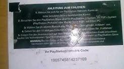 PSN-Code 16 stellige zahl einlösen