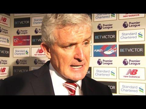 Mark Hughes On Liverpool Loss