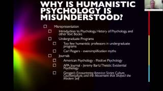 Humanistic Psychology - A General Introduction