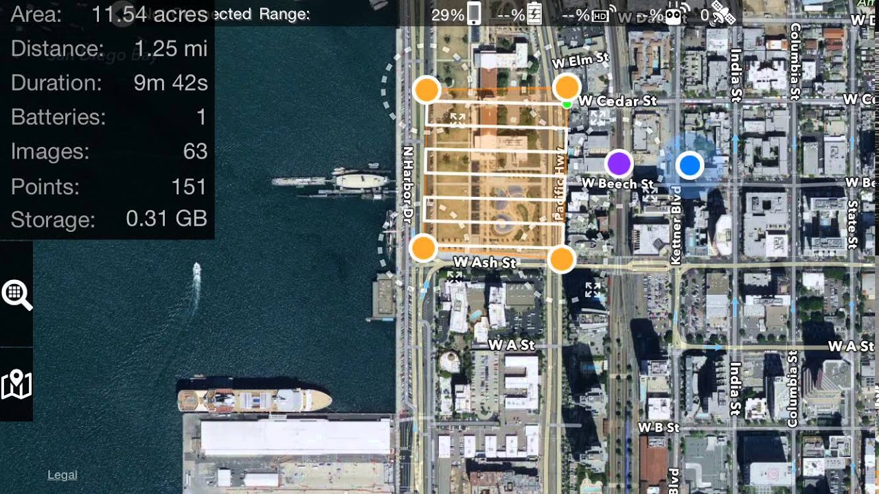 Drones Made Easy Map Pilot App for iOS