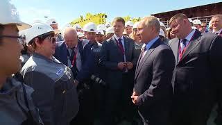 Путин не поверил рабочим завода в Приморском крае, рассказавшим о низкой зарплате