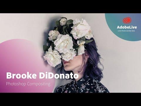 Live Photoshop Compositing with Brooke DiDonato | Adobe MAX 2017