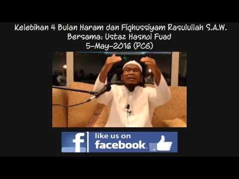 Kelebihan 4 bulan haram oleh Ustaz Hasnol Fuad
