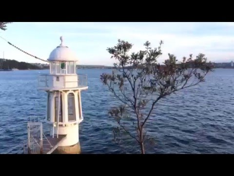 Cremorne Point Lighthouse & Sydney City View, Sydney, Australia