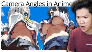 Angles in anime are perfectly normal