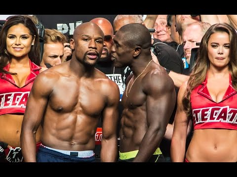 *RAW & UNCUT* Floyd Mayweather VS. Andre Berto Official Weigh-In VIDEO!!!