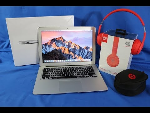 Apple Unboxing!  2017 MacBook Air and Beats Solo3 Headphones Combo from Apple Sale