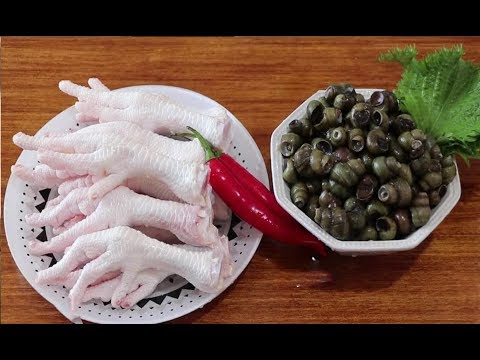 How can you miss the most fertile season of snail-burning chicken feet? [lazy kitchen]