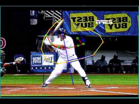 slow motion baseball swing 2