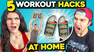 5 Workouts You Can Do Yourself | Workout At Home