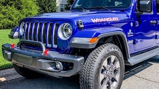 Jeep JL Upgrade Rubicon Steel Front Bumper How to Install Sahara Unlimited Sport
