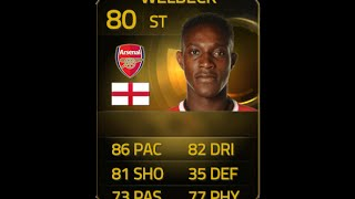 FIFA 15 IF WELBECK 80 Player Review & In Game Stats Ultimate Team