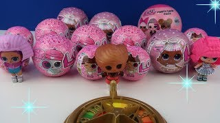 Lol Sürpriz Oyuncak Bebek Challenge!! Çarkı çevir Altın yumurtayı bul! 4. seri LOL Bidünya Oyuncak