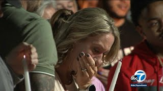 Corona movie-theater shooting: Vigil honors 2 teens killed in apparent random act | ABC7 LA