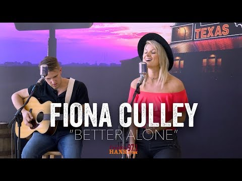 Better Alone - Fiona Culley (Acoustic)