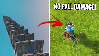 *NEW* No FALL DAMAGE Glitch! (Fortnite Season 9 Glitch PS4/Xbox One/PC)